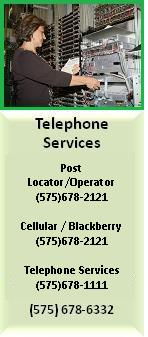 Click to go to Telephone Services Page