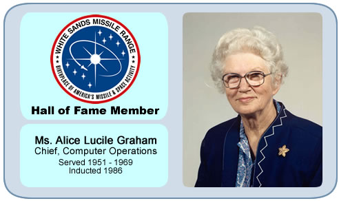 Photo of Ms. Alice Lucile Graham