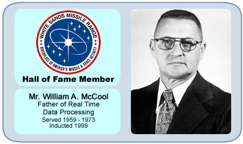 Photo of Mr. William A. McCool