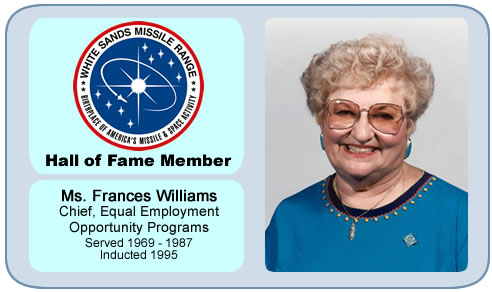 Photo of Ms. Frances Williams