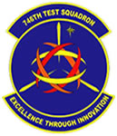 Logo: Patch of the 746th Test Squadron