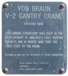 Launch Complex 33 Plaque
