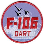 Patch: F-106, one of the fighter types that used Genie