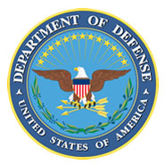 Logo: Seal of the United States Department of Defense