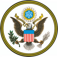 Logo: Great Seal of the United States of America