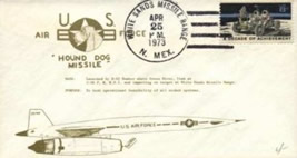 Photo: Hound Dog postcard from White Sands Missile Range