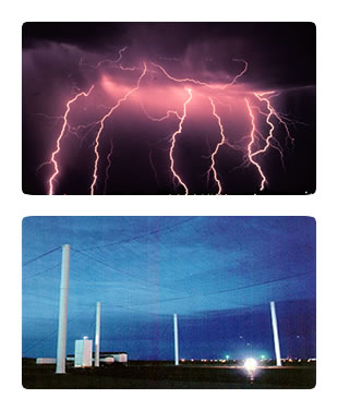 Photos: Lightning and the Lightning Test Facility