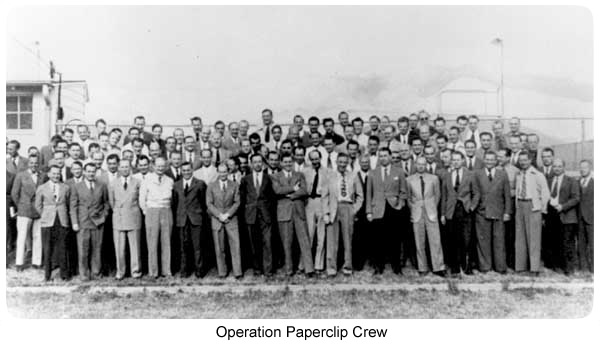 Photo: Operation Paperclip Group