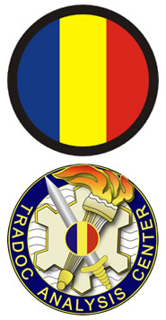 Logo: Training and Doctrine Command (TRADOC) and the TRADOC Analysis Center