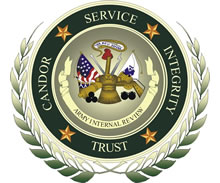 Emblem: US Army Internal Review