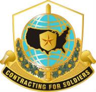 Logo, Mission and Installation Contracting Command